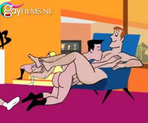 Gay porno tekenfilm uit de swinging sixties